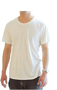 竹布Tシャツ メンズ