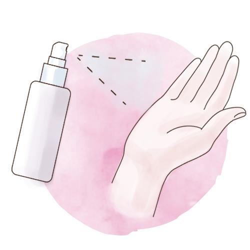 スマートフォンなどの除菌に使用できます