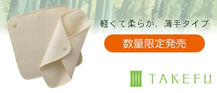 TAKEFU 布ナプキンホルダー2枚セット/薄手タイプ