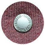 竹布(TAKEFU) 竹のカーディガン スナップボタン