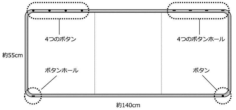 癒布(ゆふ)竹のマルチユースブランケット