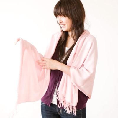 竹布平織りストール