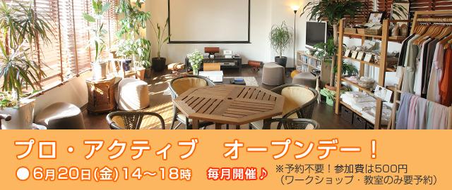 プロ・アクティブオープンデー 玄米元氣カフェ
