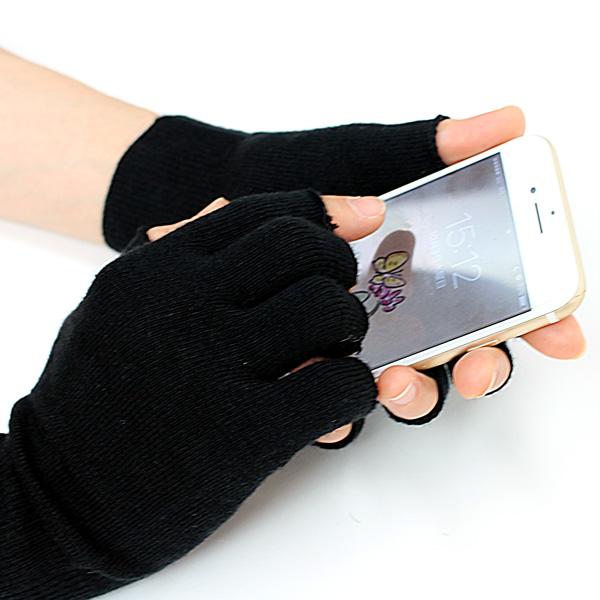 ウールや皮革の手袋の内側に竹のインナー手袋を
