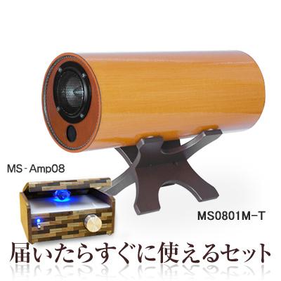 波動スピーカー 対応 MSオリジナルアンプ MS-Amp08