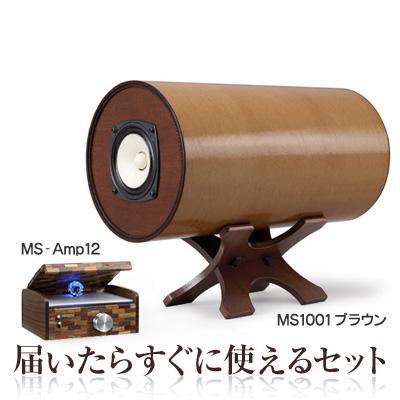 波動スピーカー 対応 MSオリジナルアンプ MS-Amp12