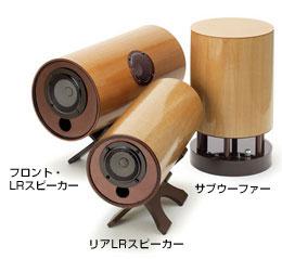 波動スピーカー5.1ch対応ドコデモ